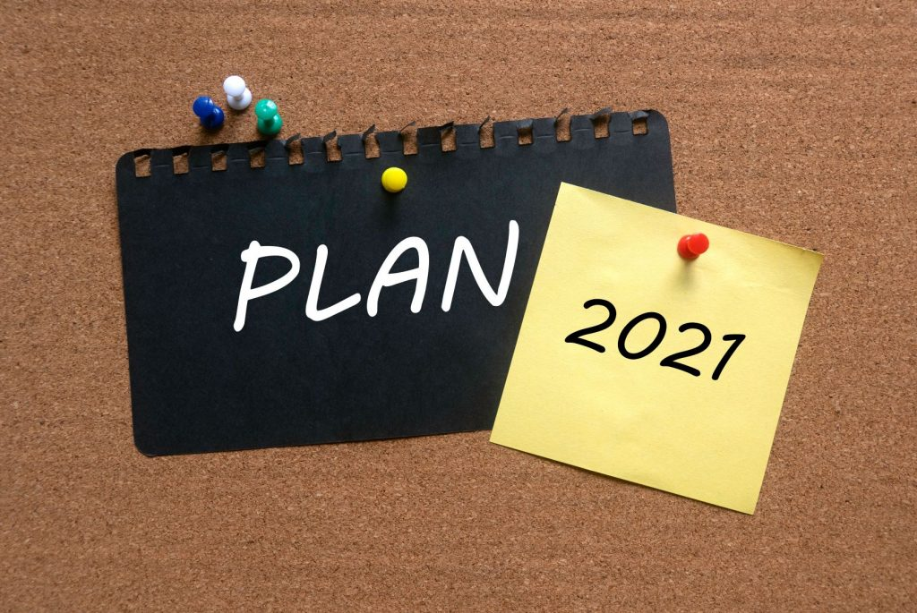 Planejamento 2021 para lojas de roupas