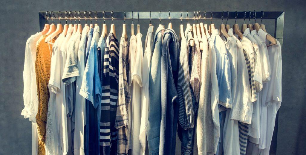 Primeira compra loja de roupas